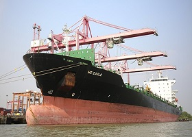 TP.HCM lần đầu đón tàu tải trọng 40.000 tấn chuyển hàng hóa trực tiếp đi Úc