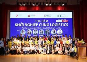 Chương trình Tọa đàm khởi nghiệp cùng Logistics