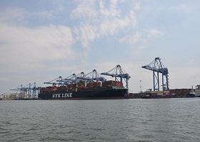 Cảng TCIT thiết lập kỷ lục về sản lượng xếp dỡ