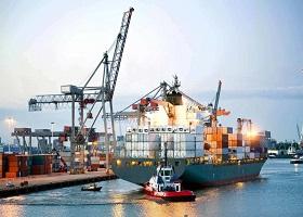 Hàng container qua cảng biển sẽ ngắt đà giảm, tăng trưởng mạnh hai con số?
