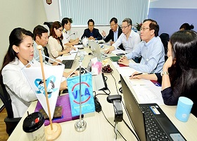 Hiệp hội VLA chính thức nộp hồ sơ đăng ký đăng cai hội nghị FWC 2022