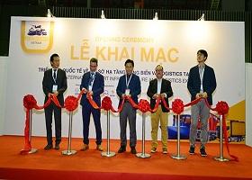 Khai mạc Triển lãm quốc tế về cơ sở hạ tầng cảng biển và logistics tại Việt Nam