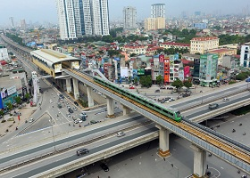 Khai thác thương mại tuyến đường sắt Cát Linh - Hà Đông vào tháng 4/2019